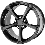 OE Creations PR130 Gloss Black Wheels