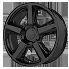 OE Creations Wheels <br />PR131 Matte Black