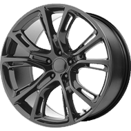 OE Creations PR137 Gloss Black Wheels