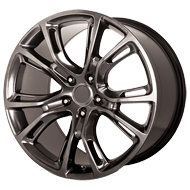 OE Creations PR137 Dark Hyper Silver Wheels