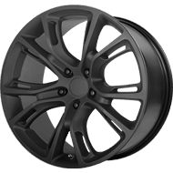 OE Creations PR137 Matte Black Wheels