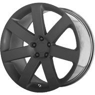 OE Creations PR138 Matte Black Wheels