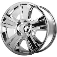 OE Creations PR143 Chrome Wheels