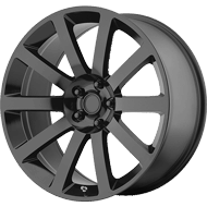 OE Creations PR146 Gloss Black Wheels