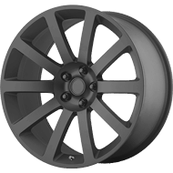 OE Creations PR146 Matte Black Wheels