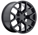 OE Creations PR150 Gloss Black w/ Clear Coat Wheels