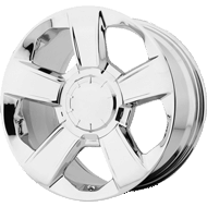 OE Creations PR152 Chrome Wheels