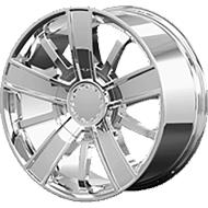 OE Creations PR153 Chrome Wheels