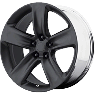 OE Creations PR154 Satin Black Wheels