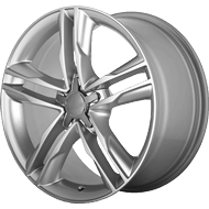 OE Creations PR141 Hyper Silver Wheels