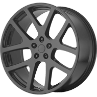 OE Creations PR149 Matte Black Wheels
