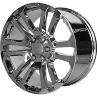 OE Creations PR158 Chrome Wheels