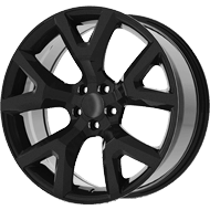 OE Creations PR159 Gloss Black Wheels
