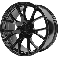 OE Creations PR 161 Gloss Black Wheels