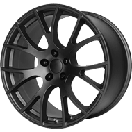 OE Creations PR161 Matte Black Wheels