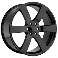 OE CREATIONS WHEELS<br> PR165 GLOSS BLACK
