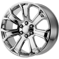 OE Creations PR166 Chrome Wheels