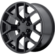 OE Creations PR169 Gloss Black Wheels