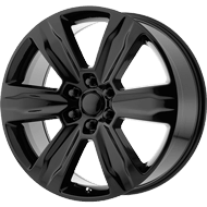 OE Creations PR172 Gloss Black Wheels