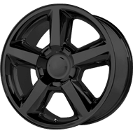 OE Creations PR131 Matte Black Wheels