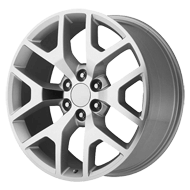 OE Creations PR169 Silver w/ Machined Spoke Wheels