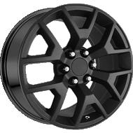 OE Performance 169MB Matte Black Wheels