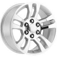 OE Performance Wheels 175SM Silver/Machined Face Wheels