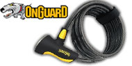 OnGuard Coil Cable Locks  Doberman Series