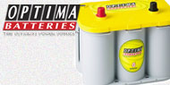 Optima <br>Yellow Top Batteries