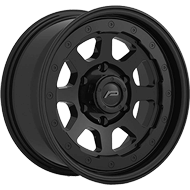 Pacer Wheels <br/>166SB Nighthawk Satin Black