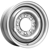 Pacer Wheels<br /> 282S OE Steel Silver