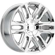 Pacer Wheels 787C Benchmark<br /> Chrome