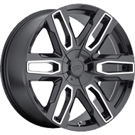 Pacer Wheels 787MB Benchmark<br /> Gloss Black with Diamond Cut Accents