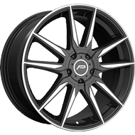 Pacer Wheels <br/>790MB Insight Gloss Black with Mirror Machined Accents