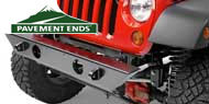 Pavement Ends Bumpers <br/>for 07-16 Jeep JK