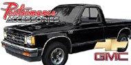 Rear Bumper Gap Guard for 1982-1994 Chevy S-10 Pickup & Blazer