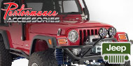 Performance Accessories <br>Body Lift Kits <br> TJ Jeep