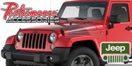 Performance Accessories Gap Guards and Rear Bumper Piece<br> 1986-2013 Wrangler
