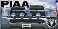 PIAA Dodge Light Bars