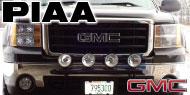 PIAA GMC Light Bars