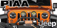 PIAA Jeep Light Bars