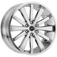 Platinum Wheels<br /> 270C Pivot Chrome
