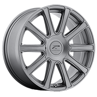 Platinum Wheels<br /> 410GN Divine Satin Graphite with Satin Clear-Coat