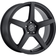 Platinum Wheels<br /> 432SB Elite Satin Black
