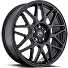 Platinum Wheels<br /> 404 Arctic Satin Black