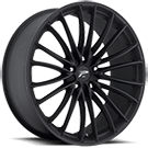Platinum Wheels<br /> 417 Monarch Matte Black