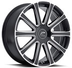 Platinum Wheels<br /> 410 Divine Gloss Black <br>with Milling and Diamond Cut