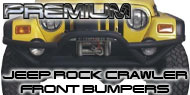 Premium Jeep <br>Rock Crawler Front Bumpers