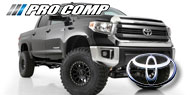 Pro Comp Black Series Pro Runner Lift Kits for Toyota