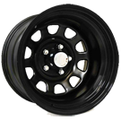 Pro Comp Wheels <br>52 Series Flat Black